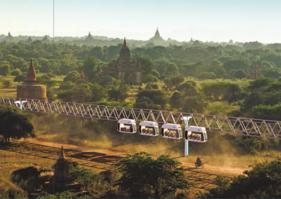 Yangon Skyway Train Project